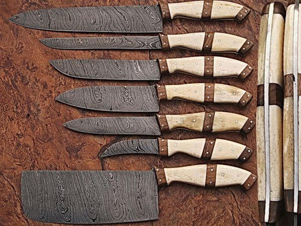 Damascus steel Chef's Knives for sale