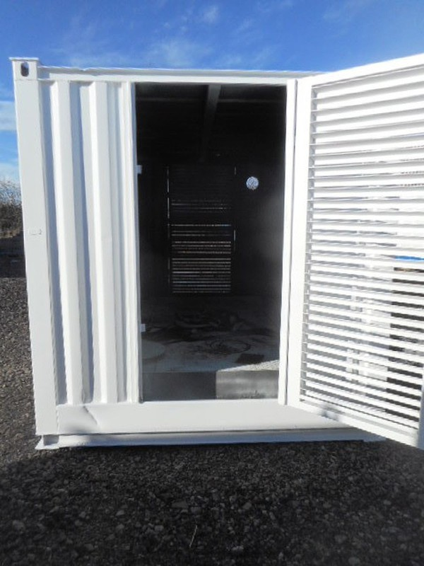 Anti vandal Generator container