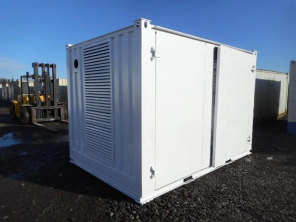 Container generator enclosure
