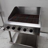 Used Lincat OG8402/N Freestanding Char Grill