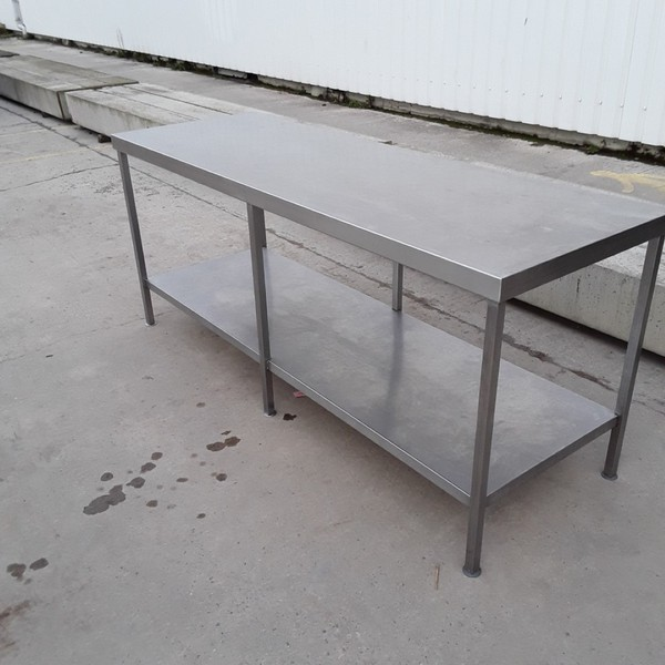 Used Stainless Steel Table (7934)