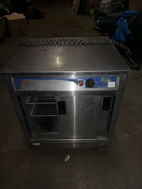 Victor hot cupboard for sale