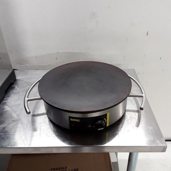 Used Buffalo CC039 Crepe Pancake Maker (7946)