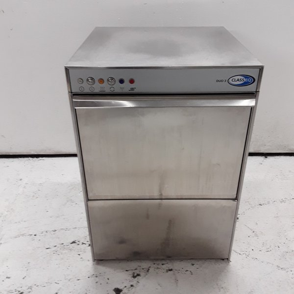 Used Classeq Duo 3 Dishwasher with Drain Pump (7947)