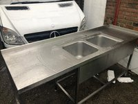 Double catering sink London