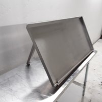 Used Stainless Steel Drainage Shelf (7953)