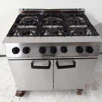Used Falcon G2101 OT 6 Burner Range Cooker (7952)