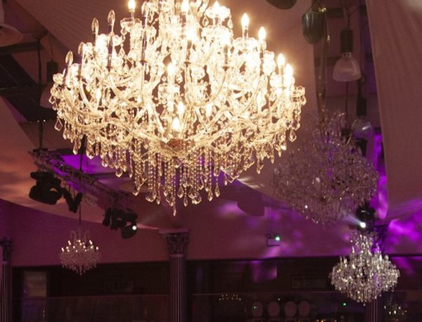 Large and Small Chandelier
