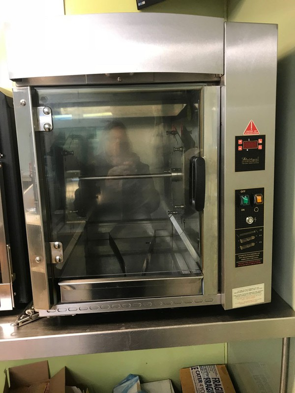 Rotisol Forced Air Oven Rotisserie