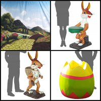 Easter Event Props for sale