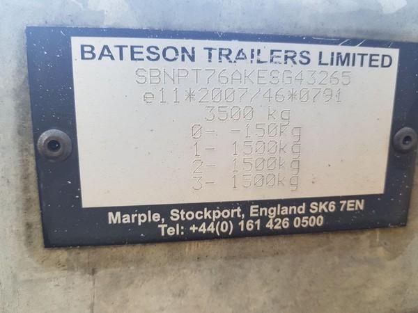 Bateson trailers Stockport SK6 7EN