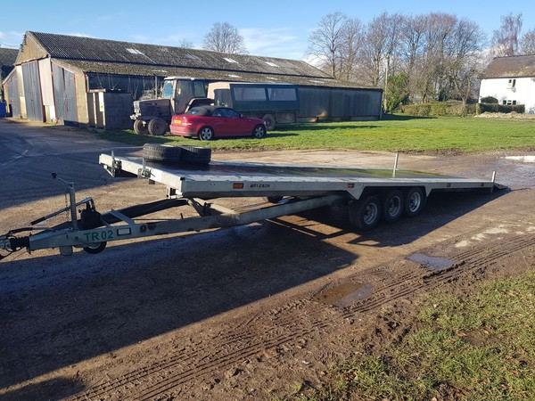 Try axel car trailer for sale