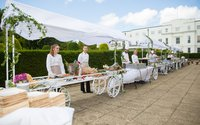 Event market stall display carts