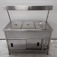 Used Hot Cupboard Heated Gantry (8163)