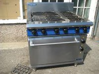 Stainless Steel Blue Seal E506D Electric Range Static Oven
