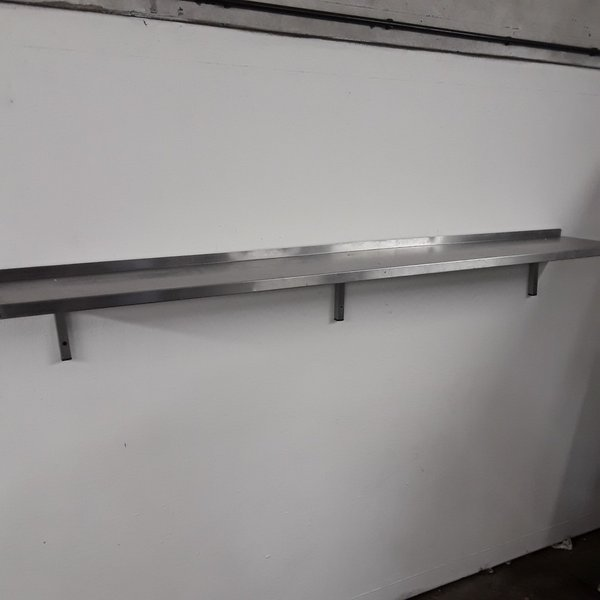 Used FED Stainless Steel Wall Shelf (8180)
