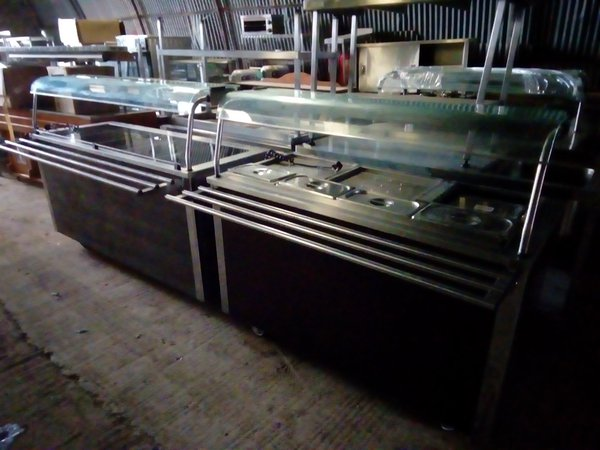 Carvery / serving trolleys