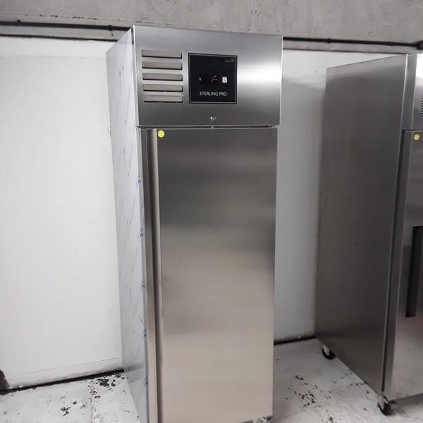 New B Grade Sterling Pro GSNI-071R Stainless Steel Single Upright Freezer (8182)