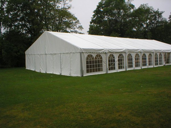 12m x 24m framed marquee