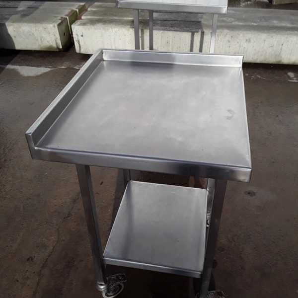 Used Stainless Steel Table (8193)