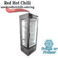 Tall display fridge