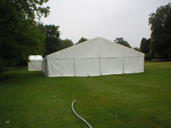 12m Clearspan marquees