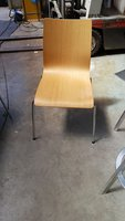76x Ex Carluccios Restaurant Chairs - London
