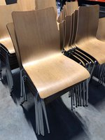 Ex Carluccios Restaurant Chairs
