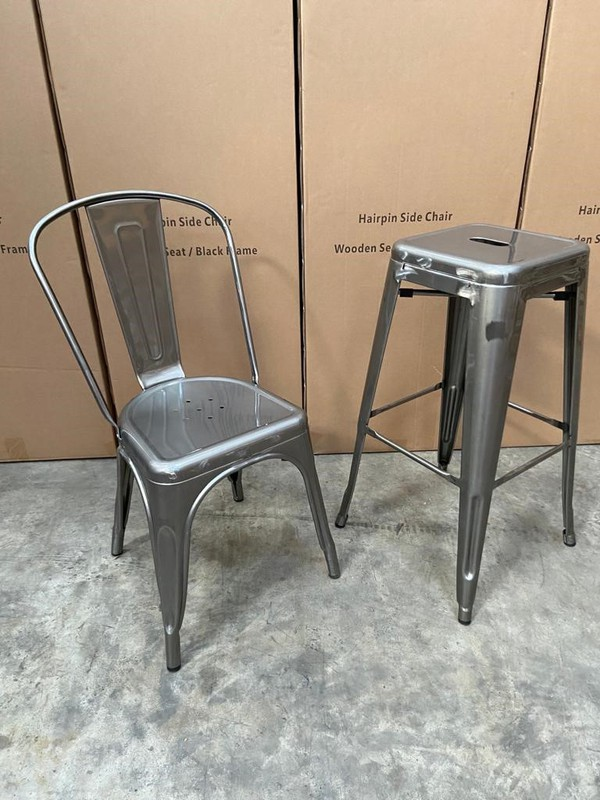 Tolix Bistro Chairs for sale