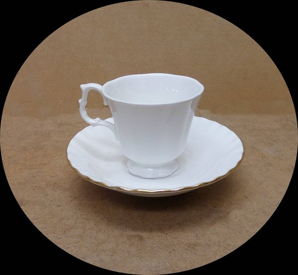 Bone China Cup and Saucer for sale