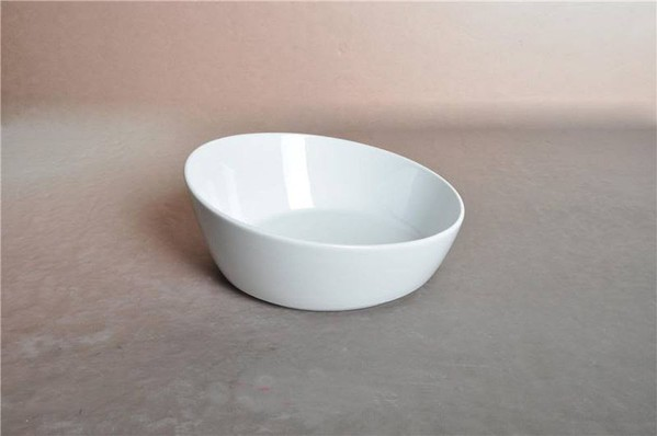 Slanted Porcelain Bowls for sale