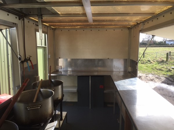 Prep and Cooking Catering Trailer