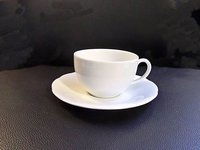Porcelain Cup and Saucer for sale