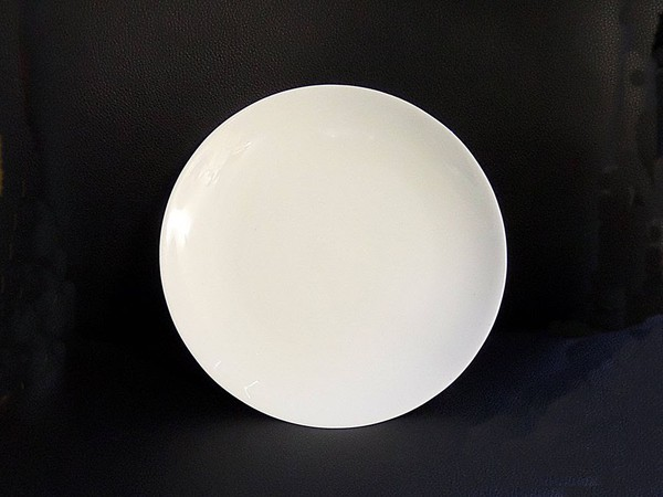 New Bone China Coupe Salad Plate for sale