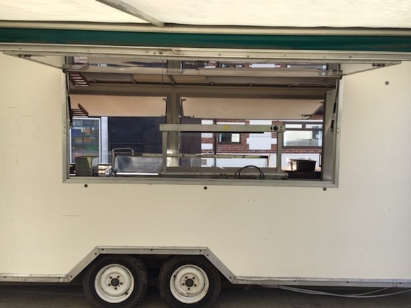 Buy Used 20 foot x 7 foot catering trailer