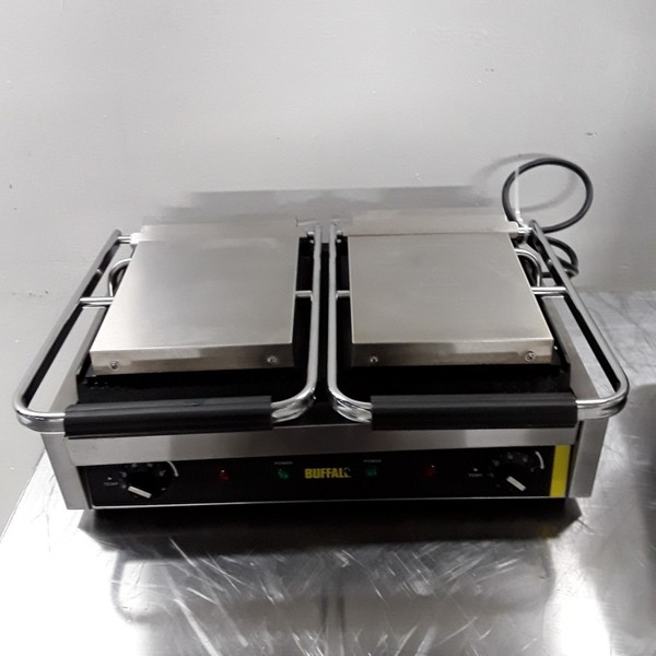 Used Buffalo DM992 Double Panini Grill