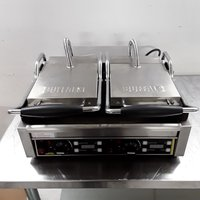 Buffalo L537 Panini Contact Grill Commercial