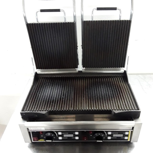 Ex Demo Buffalo Panini Contact Grill Warranty