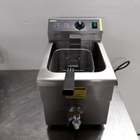 Used Buffalo Single Table Top Fryer 7.5L