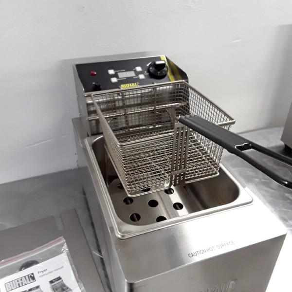 Used Buffalo L490 Single Table Top Fryer 5L