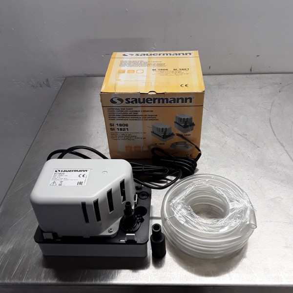 New B Grade Saurmann / Classeq Ice Machine External Drain Pump