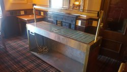 Gantry carvery trolley