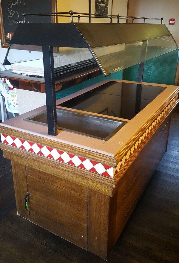 Bain Marie carvery counter