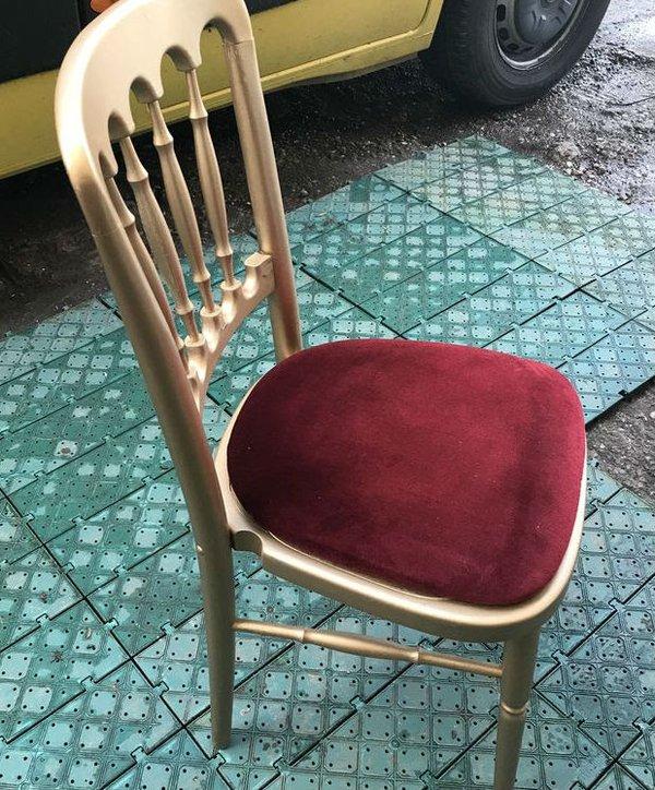 Red / Burgundy Cheltenham seat pads