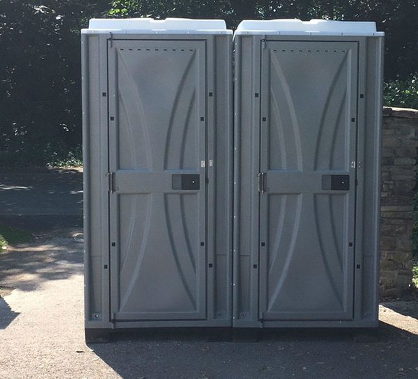 Two single toilets for sale