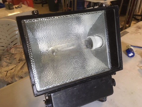 Outdoor Sodium floodlights