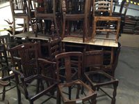 Job Lot 40's Vintage Style Dining Chair Frames