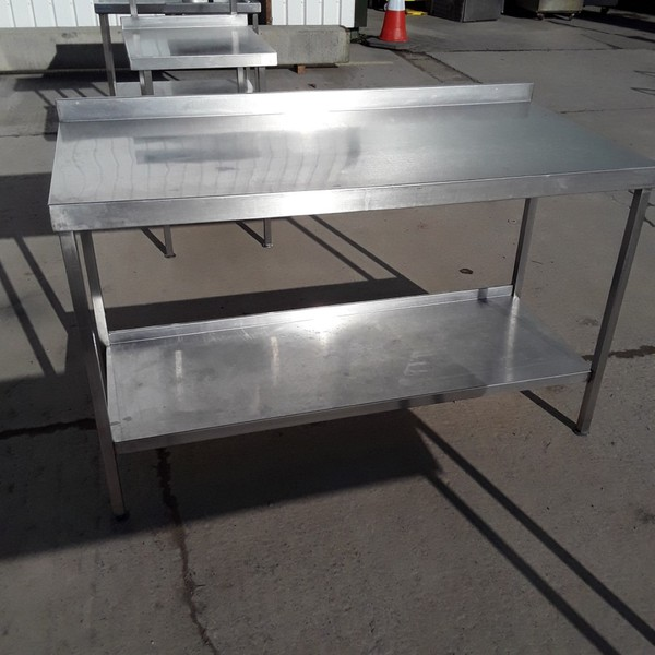 Used Stainless Steel Table (8227)