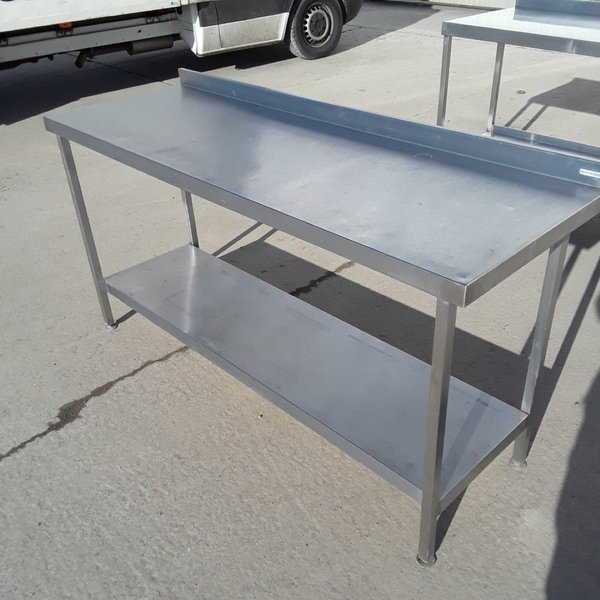 Used Stainless Steel Table (8226)
