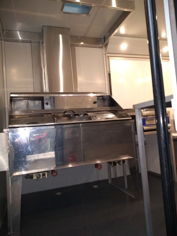 LPG Fish and chip gas fryer